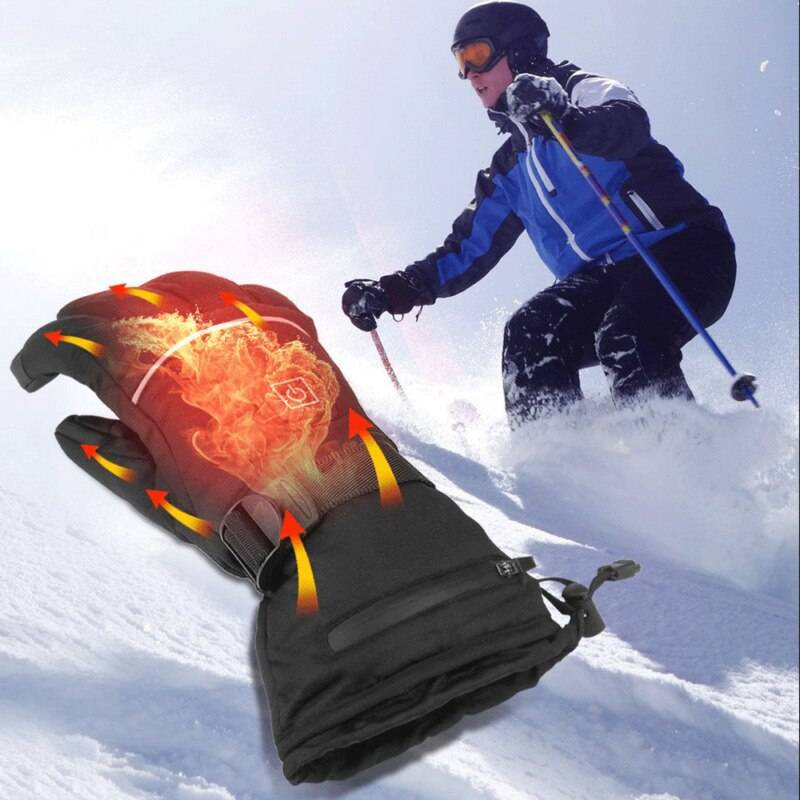 Electric Heating Gloves with AAA Battery Powered Heated Gloves