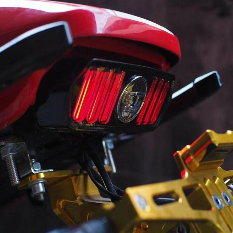 12V LED Motorcycle ATV Dirt Bike Rear Brake Stop Running Tail Light
