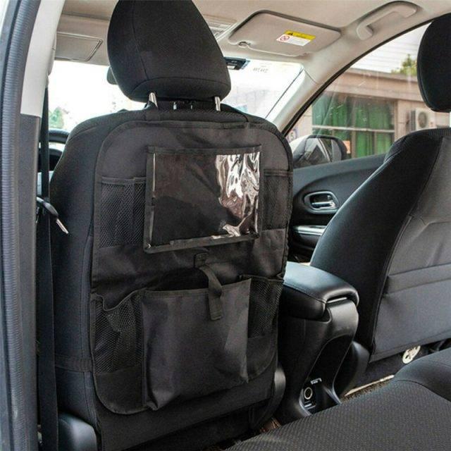 Behind Car Seat Organizer Auto Car Back Seat Hanging Bag Travel Storage Holder Organizer Car Accessories