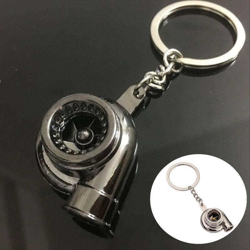 Turbines Shape Portable Keychain Zinc Alloy Car Key Ring Car Accessories