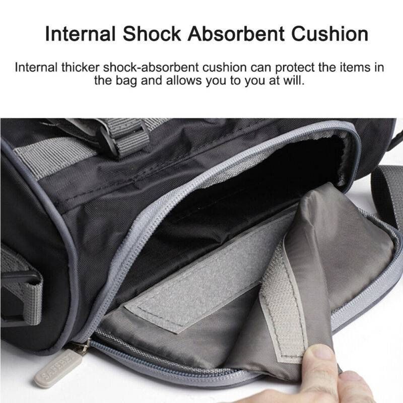 Motorcycle Electric Car Front Handlebar Fork Storage Bag Container Car Accessories