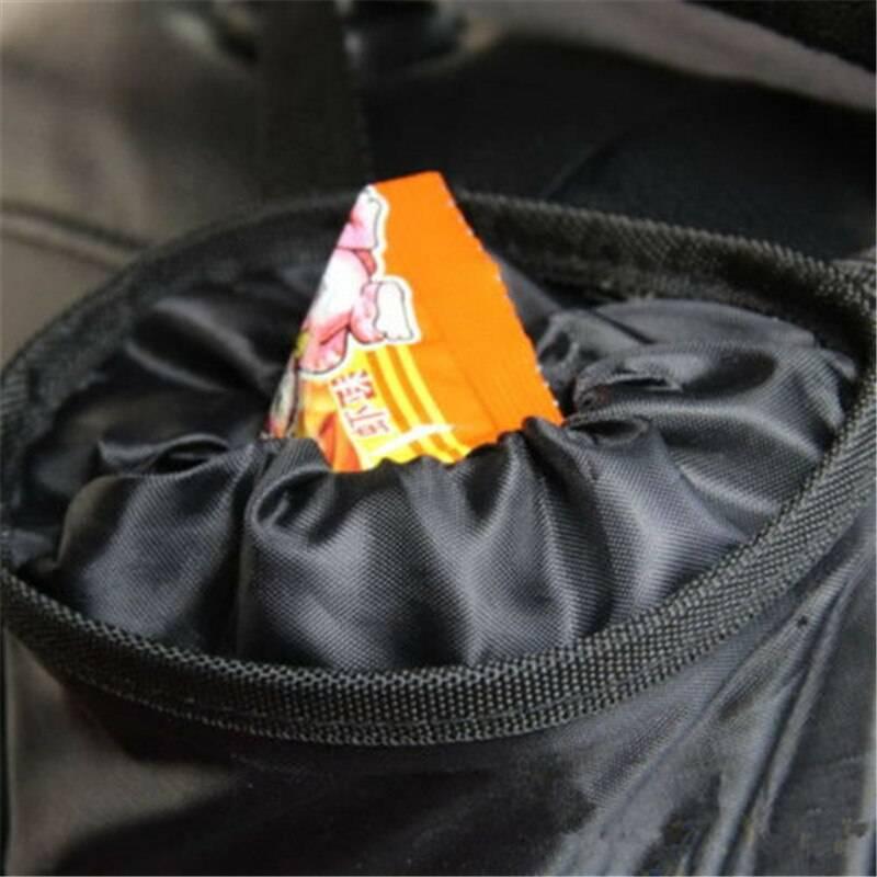 Portable Car Seat Back Garbage Bag Car Accessories