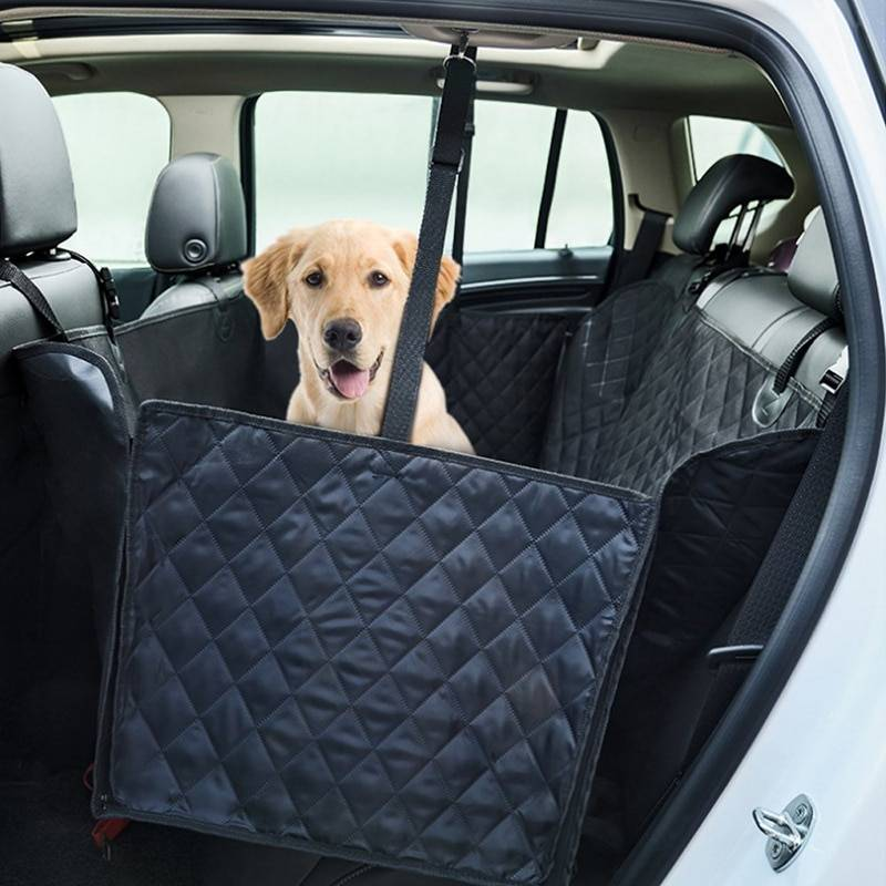 2-In-1 Large Waterproof Dog Carrier and Car Seat Cover Car Accessories
