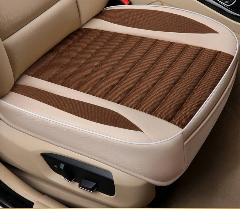 Breathable Flax Seat Cover For Car