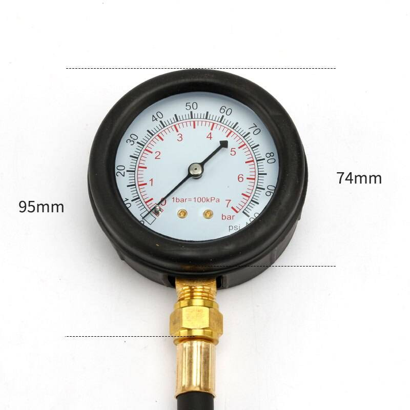 Car Fuel Pressure Gauge Set