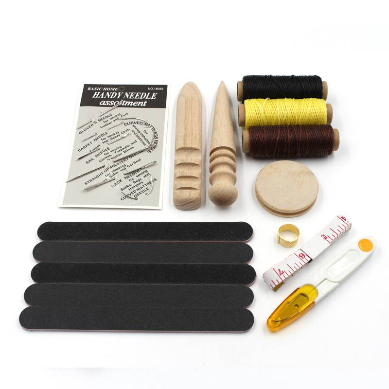Carving Drilling Leather Craft and Sewing Tools Set Car Repair & Specialty Tools