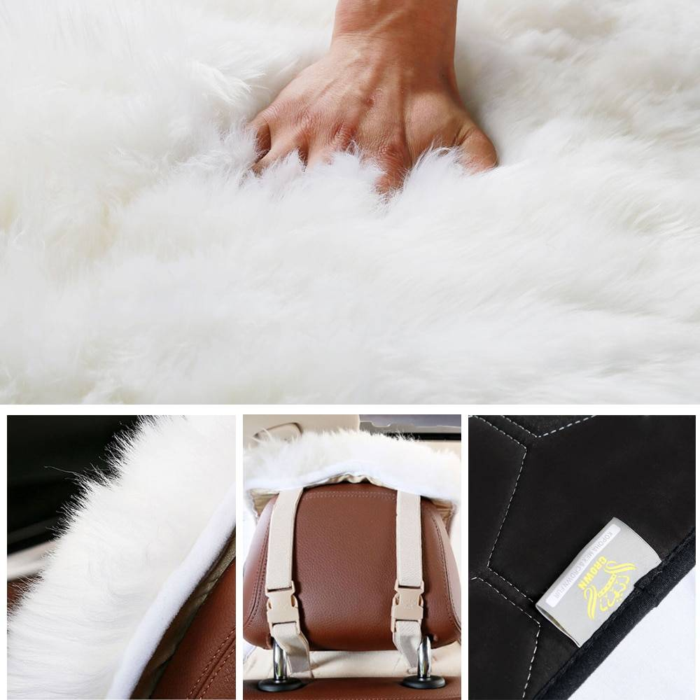 Fluffy Fur Car Seat Cover