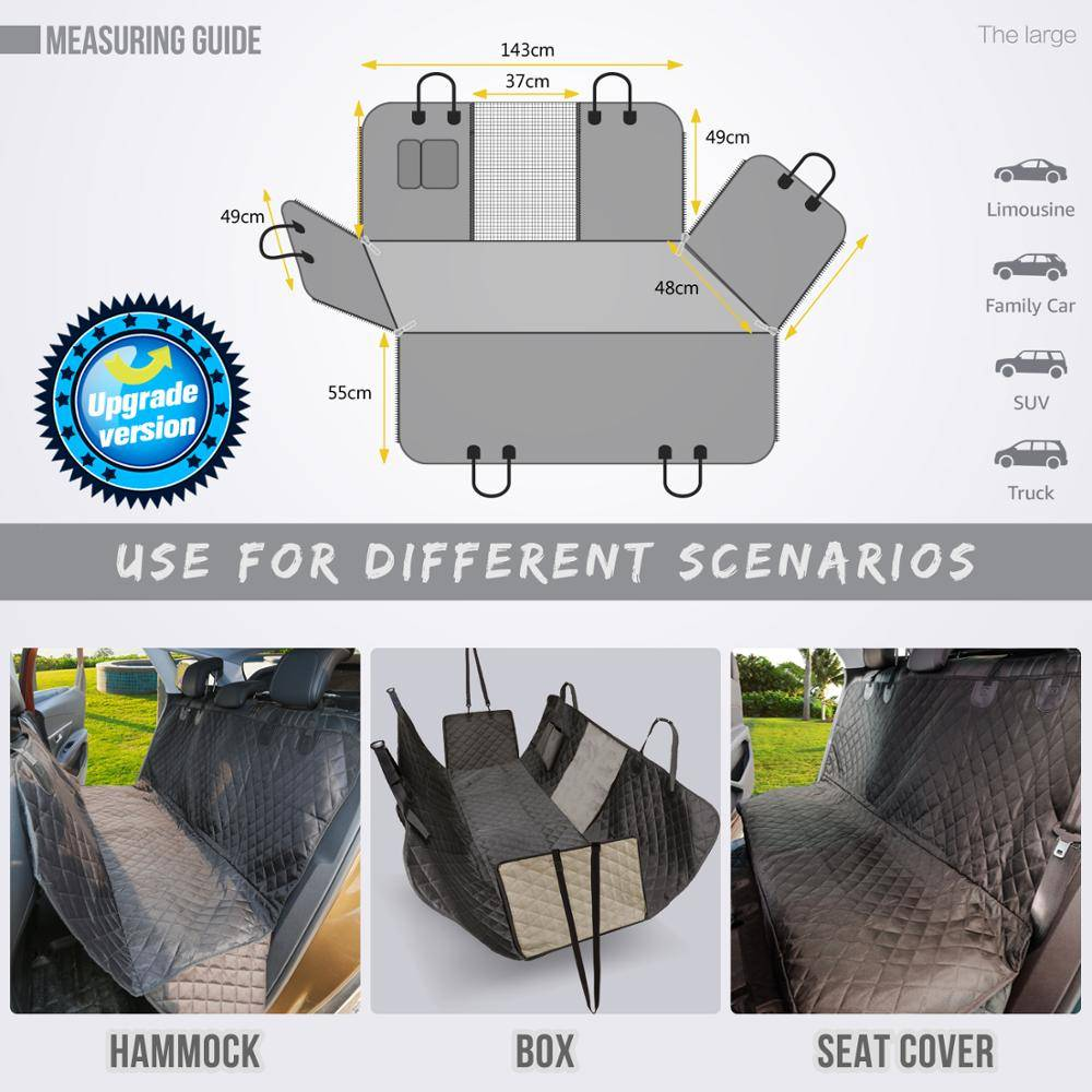Large Dog Car Seat Cover Car Accessories
