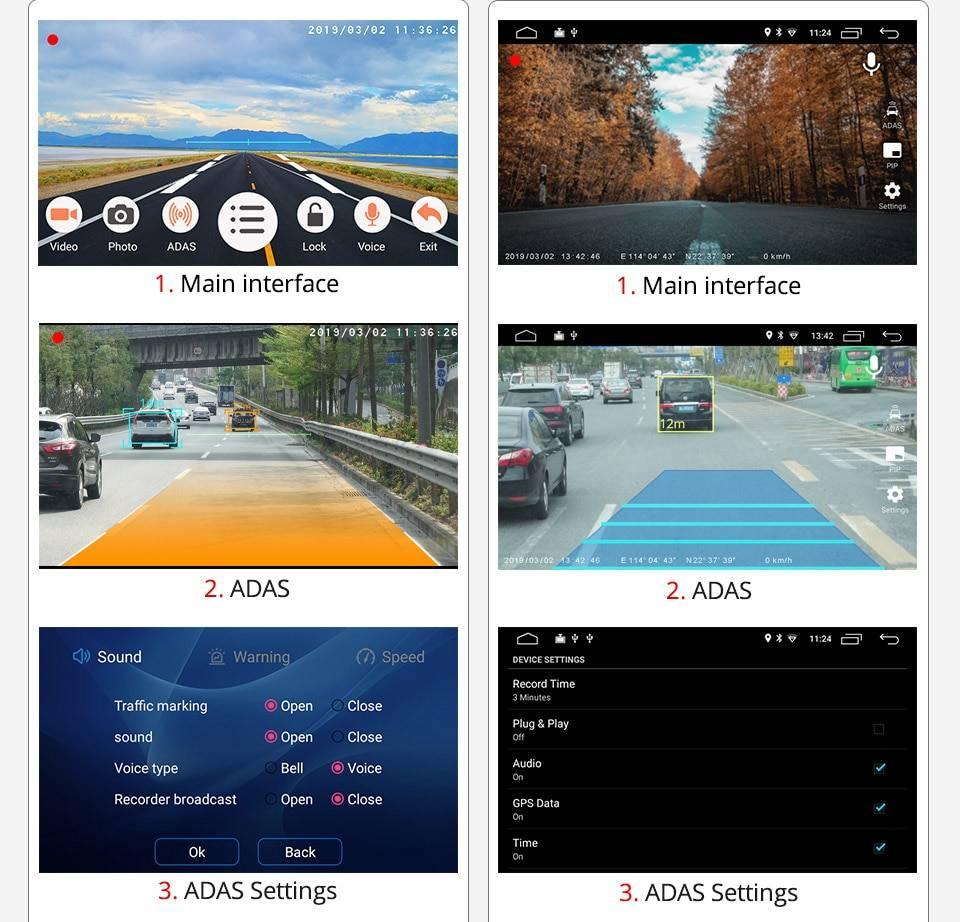 Mini Car DVR Camera with Night Vision