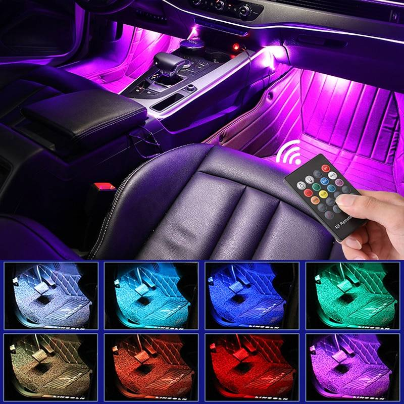 RGB Car Interior LED Light Car Accessories