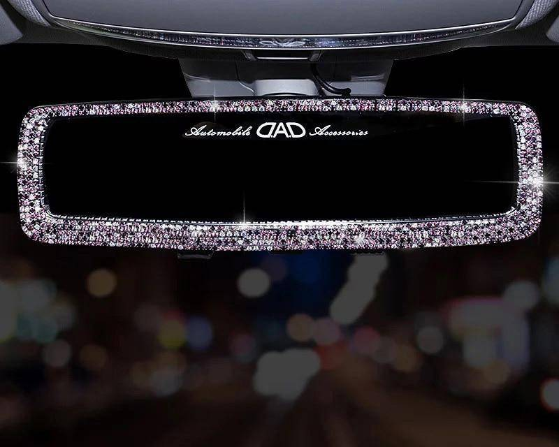 Rhinestone Car Rearview Mirror Car Accessories