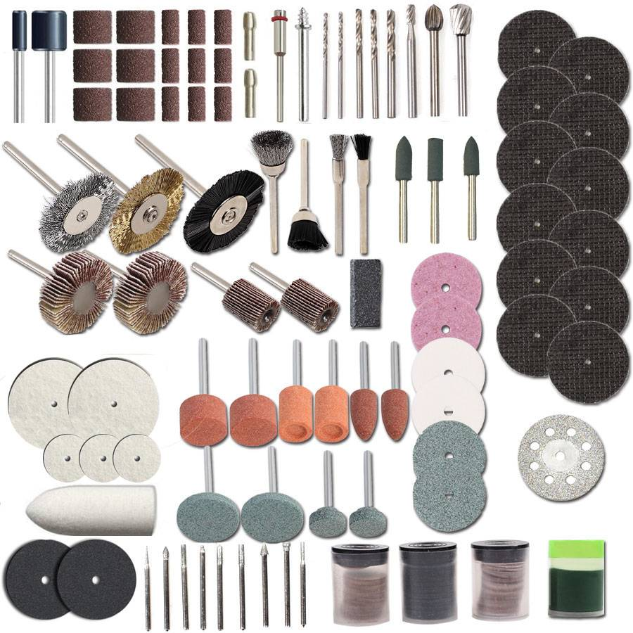 Rotary Tool Accessories for Cutting, Grinding, Sanding, Carving and Polishing Tools Car Repair & Specialty Tools