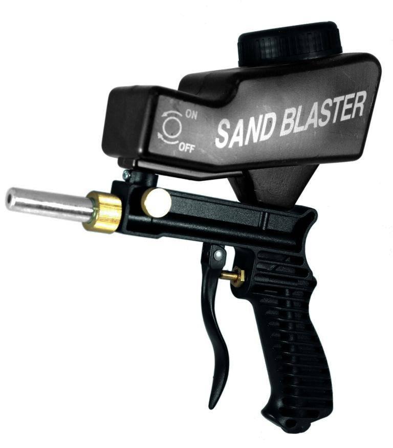 Sandblasting Air Gun for Rust and Grime Removal Car Repair & Specialty Tools