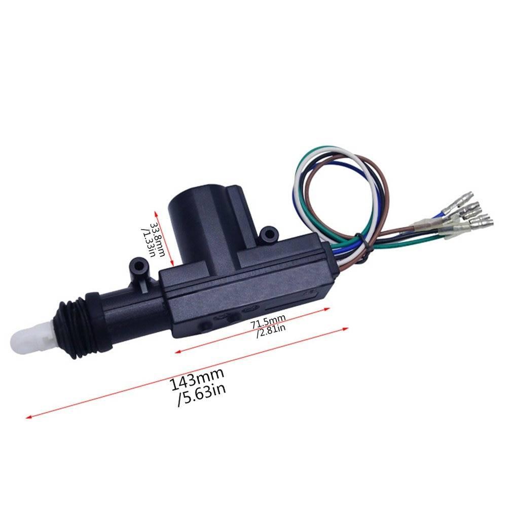 Universal Car Central Lock Solenoid Actuator Car Accessories