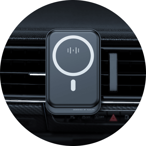 15W Magnetic Wireless Charging Phone Holder Car Accessories Charging Phone Holder