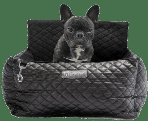 Black Vegan Leather Car Seat Best dog car seat cover Car Accessories 1 vegan