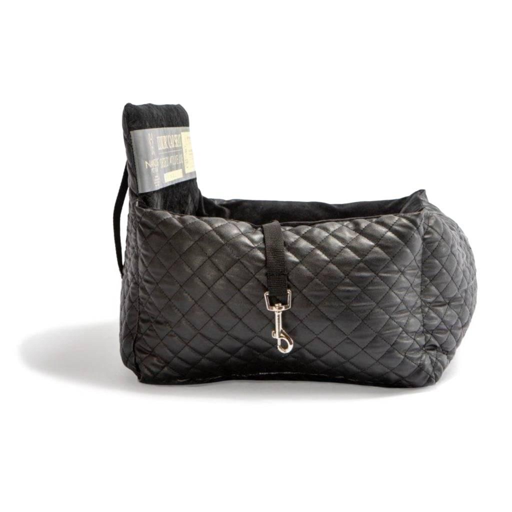 Black Vegan Leather Car Seat Best dog car seat cover Car Accessories