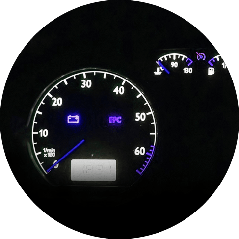 Blue LED Car Instrument Dashboard Light x 1