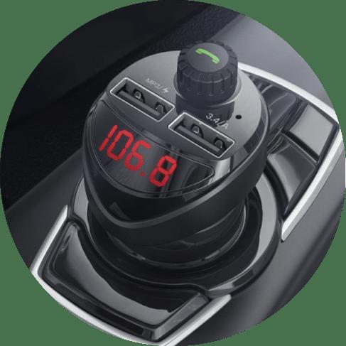Digital Display Car Radio Phone Control Adapter Car Accessories Digital Display Car Radio