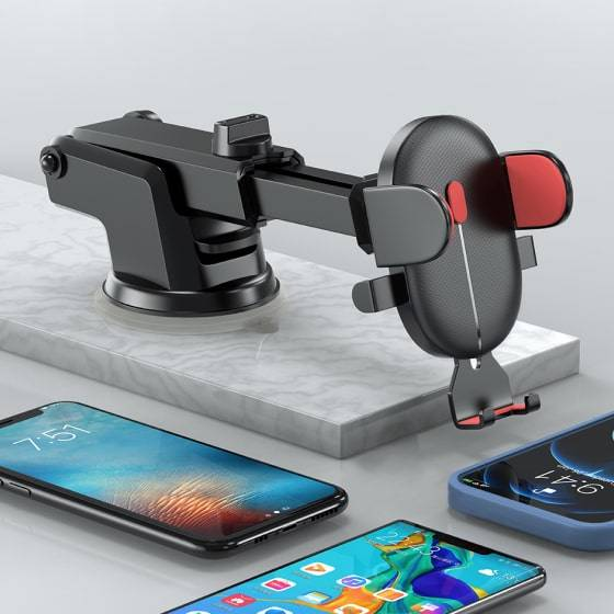 Dual Style Car Phone Holder Mount Car Accessories 4 Phone Holder Mount