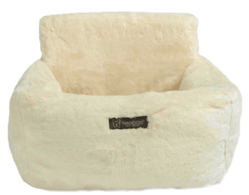 Ivory Cloud Car Seat Best dog car seat cover Car Accessories ivory