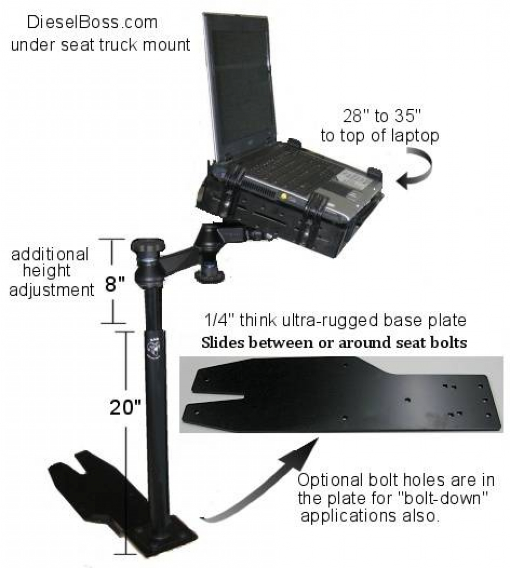 Laptop Brackets For Truck – Make Sure They Are sturdy & Provide a Secure Location For Your Computer