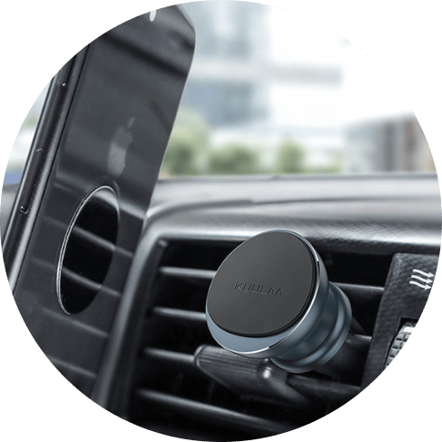 Magnetic Circle Car Air Vent Phone Holder Car Accessories Air Vent Phone Holder