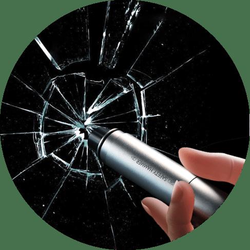 Mini Car Emergency Glassbreak Hammer Belt Cut Tool Car Accessories Car Emergency