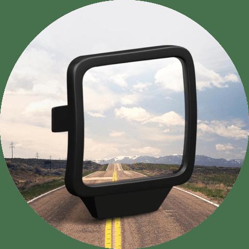 Mount On Blind Spot Mirror Car Accessories Blind Spot Mirror
