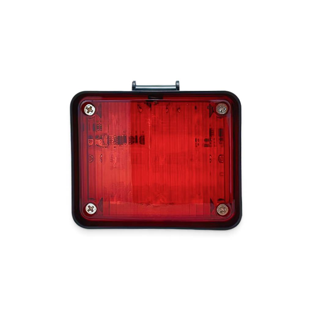 Red LED Emergency Flash Lamp Car Accessories