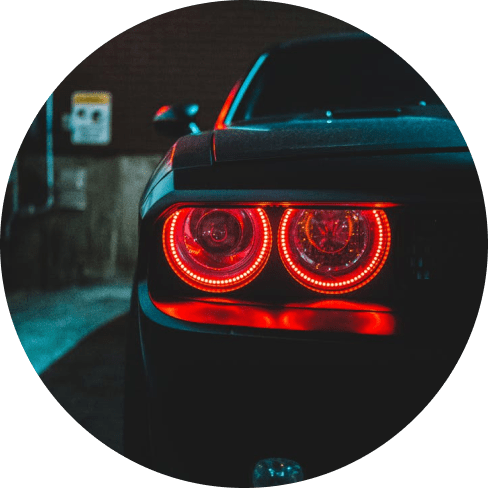 Red LED Emergency Flash Lamp Car Accessories 1 flash lamp
