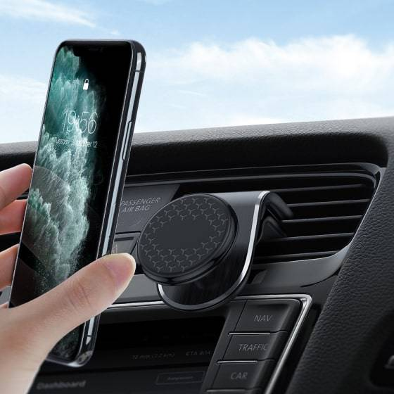 Round Magnetic Car Phone Holder Car Accessories 2 Magnetic Car Phone Holder