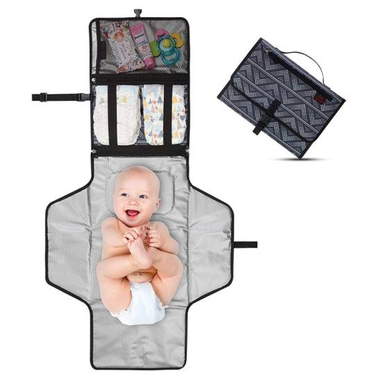 Waterproof Foldable Changing Mat for Newborns Car Accessories 15 changing mat